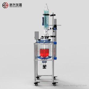 使用上海科兴玻璃反应釜怎么更好的提高工作效率
