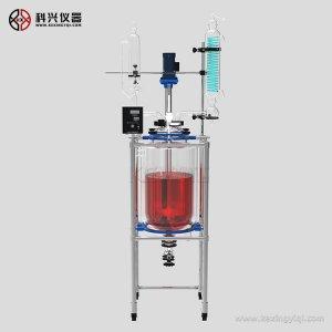 上海50升反应釜玻璃是什么材质