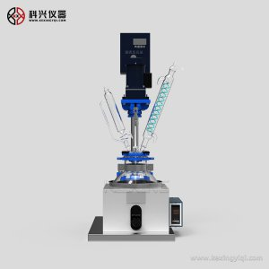 耐高低温单层玻璃反应釜组装步骤