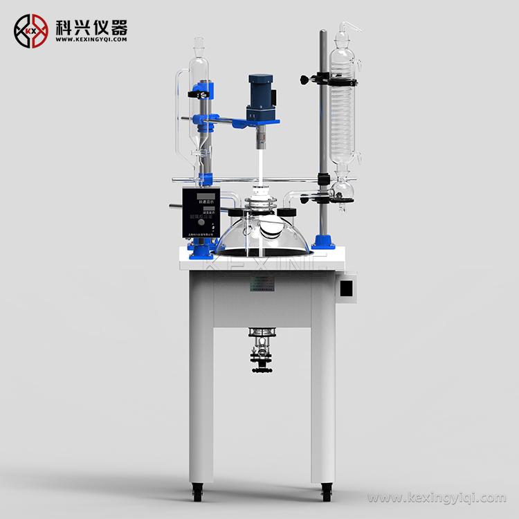 单层玻璃反应釜(加热锅式)